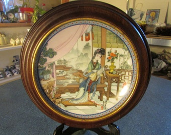 1987 Imperial Jingdezhen Porcelain Plate Beauties of the Red Mansion #6