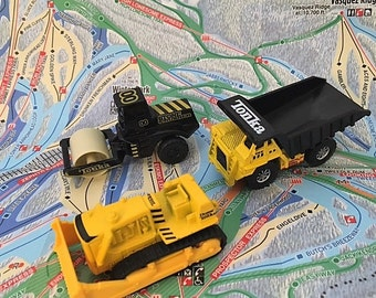 FOR DAD - Vintage Tonka Toy Construction Trucks