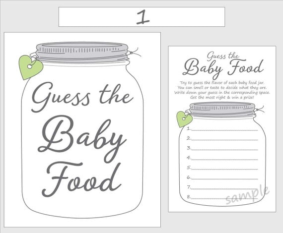Astounding image within baby food game printable