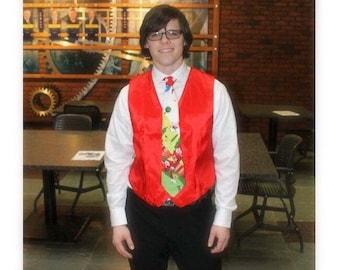 Men's Formal Gnome Novelty Vest