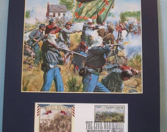 The Irish Brigade at Battle of Bull Run - July 21, 1861 & First Day Cover