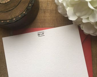 R+F Notecards | Rodan and Fields Cards | Letterpress | Blank Writing Cards