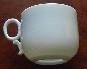 Antique Porcelain Mustache Cup!