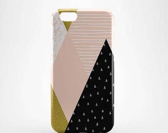 Geometric Hard case 3D case Apple iPhone 4 5 6 7 Samsung Galaxy S6 S7  #232