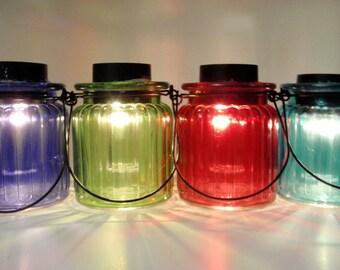 Set of 2 - Solar Light Hanging Lantern - Fairy Garden Light - Party Lights - Wedding Lighting - Mood Lighting - Mothers Day Gift