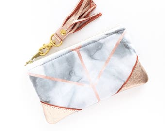 Marble Pencil Case Etsy