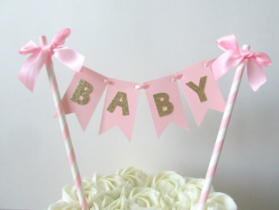 Baby Shower Cake Toppers Girl Diabetesmangfo