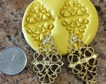 Fancy Diamond Shape silicone mold