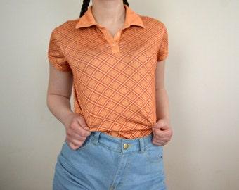 90s Orange Adidas Shirt