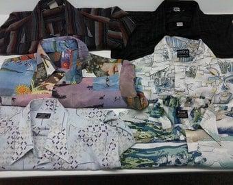 70's 80's vintage shirt Lot (27)