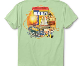 Old Bay Life - Light Green T-Shirt