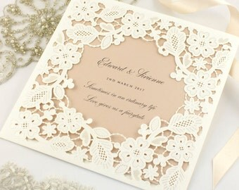 how to make laser cut wedding invitations
