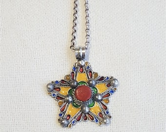 "own design kabyle necklace ""Amel"""