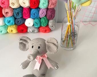 Handmade Amigurumi Elephant