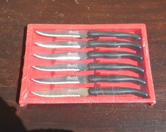 Vintage Boxed LAGUIOLE Six Knives - Cutlery Set