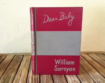 Mid Century Book Titled Dear Baby