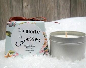 Massage Candle- Gift idea-GEISHA fragrance