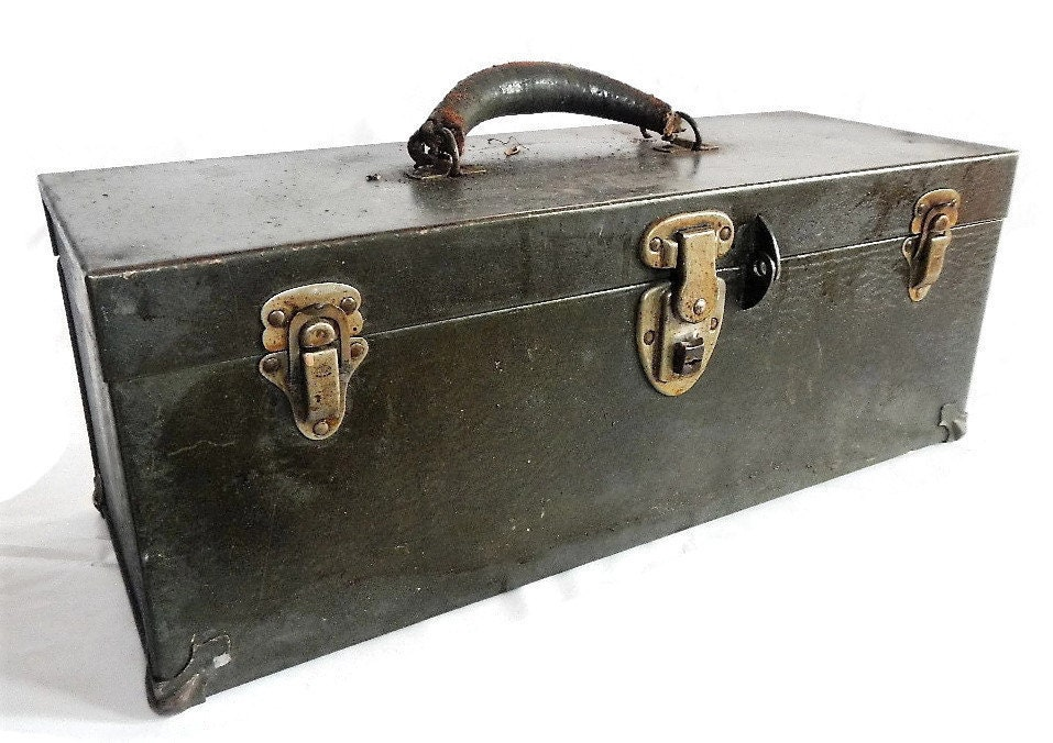 kennedy cantilever tool box. sold by rust2retro kennedy cantilever tool box