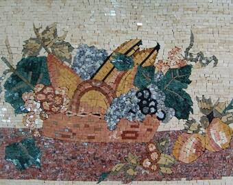 Mosaic Kitchen Backsplash- Colorato Frutta
