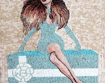 Mosaic Illustration Mosaic Marble