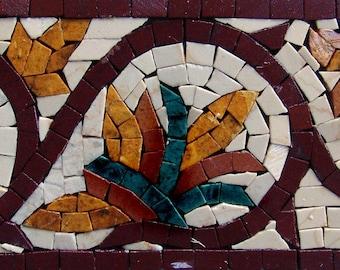 Floral Mosaic Border