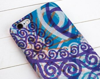 Mobile or Cell phone case for iPhone 7, 7plus, 6, 6s, 6plus, 5, 5s, 5c, 4, 4s, Samsung s4, s5, s6, s7, s7edge, s8, s8plus & HTC one M8
