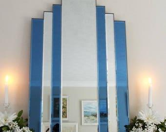 Cobalt Blue Mirror Etsy