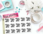 "MCM MANTRAS: ""Creating my story"" Paper Planner Stickers!"