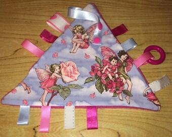Flat blanket labels pretty fairies