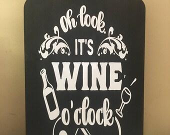 Oh look!  It's wine o'clock