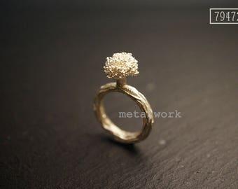 MW R1008 The 925 Silver Broccoli Ring