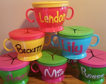 Personalized Snack Cups...ON SALE