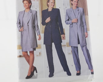 Long Jacket, Skirt, Top and Pants Pattern, Uncut Sewing Pattern, Butterick 5789, Size 14-18