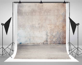 Vintage Old Brick Wall Photography Backdrops Seamless Newborn Baby Photo Backgrounds for Children Studio Props