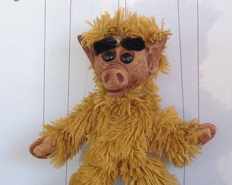 Alf Marionette Puppet handmade by The Squeaking Tribe