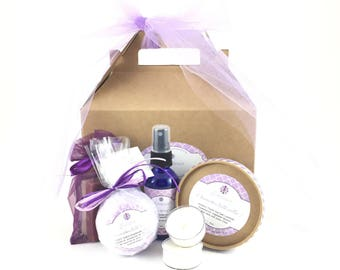 Lavender Gift Set, Soak Collection
