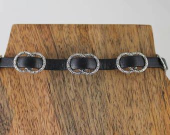 Choker Necklace, Black choker, Black necklace