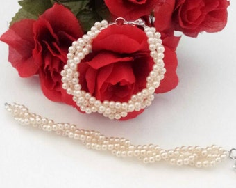 Children's Jewelry/Toddler Jewelry/Beaded Bracelet Set /Kids Bracelet Set