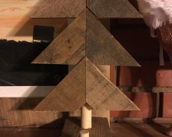 Reclaimed Wood Stocking Holder