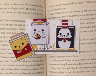 Magnetic Bookmarks • Children's Literature