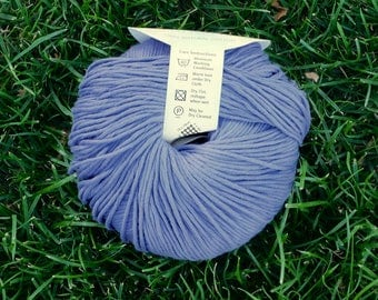 Sirdar Luxury Soft Cotton DK - Indigo 650