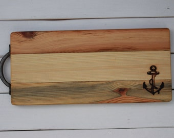 Reclaimed Wood Cheese / Serving Board