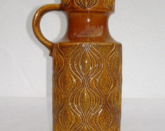 70. J. Scheurich onion pattern vase with handles