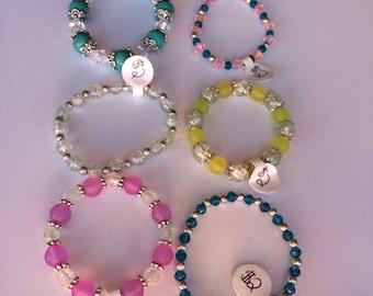 Childrens Size Beaded Bracelet