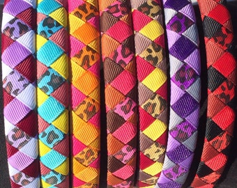 5 Mystery Braided/Woven Hairbands