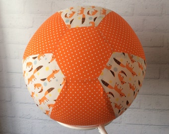 BALLOON BALL Cover..Handmade Cotton Fabric..Educational.. Sensory Play.. Special Needs Autism..Bouncy..Great Gift Idea