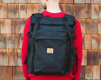 Rolltop backpack | messenger rucksack Bonette | Velotton