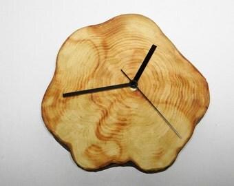 Clock, rustic clock, wall clock, eco friendly clock, wooden clock, wood clock (40)