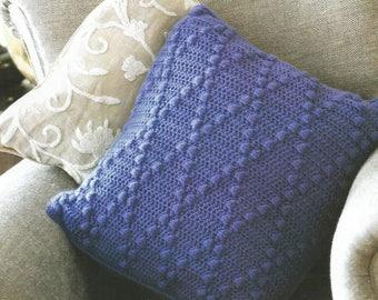 Instant Download - PDF- Bubble  Pillow Crochet Pattern (H23)