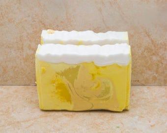 Handmade Soap Scented Soap Gift Soap Bath Soap  Lemonade